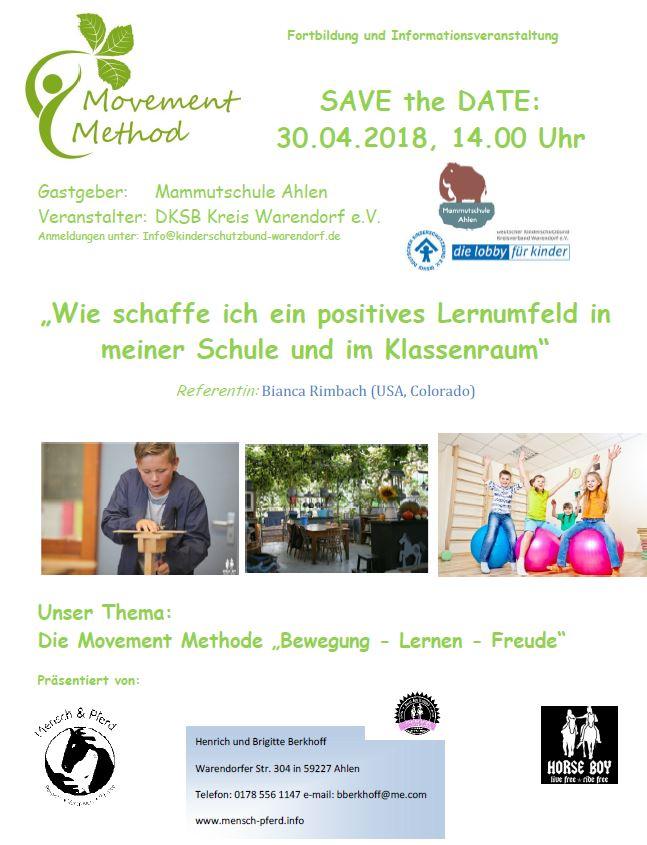 Lernumfeld 30.04.2018