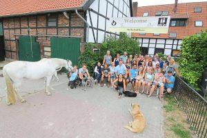 """""""Tribe Day"""" auf dem Hof Berkhoff-Beumer  Das Pferd bringt ein Wohlfühlerlebnis"""