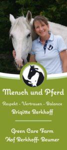 Flyer Mensch und Pferd
